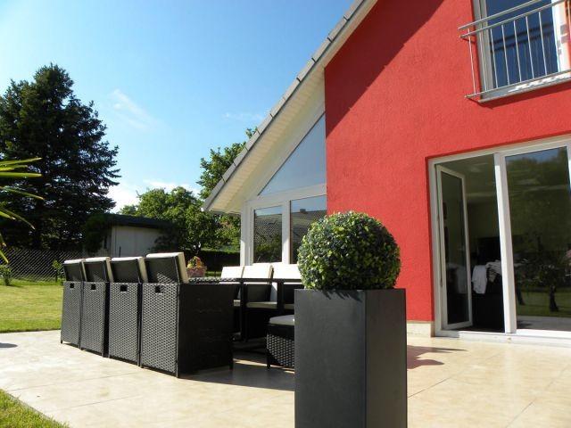 Terrasse der Traumvilla Rügen