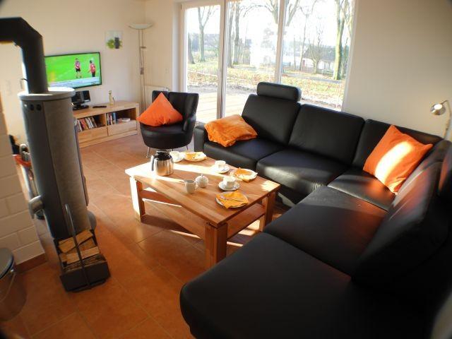 Luxus fitnessraum  Luxus-Ferienhaus am Vechtesee, Wellness, Fitnessraum, Kamin