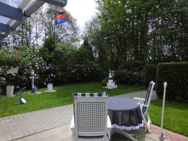 Garten und Außenterrasse