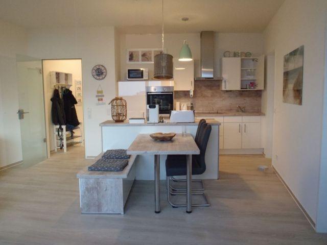 Der Schöne Küchen und Wohnbereich