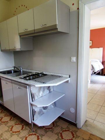 Kleine Küche in der ersten Etage