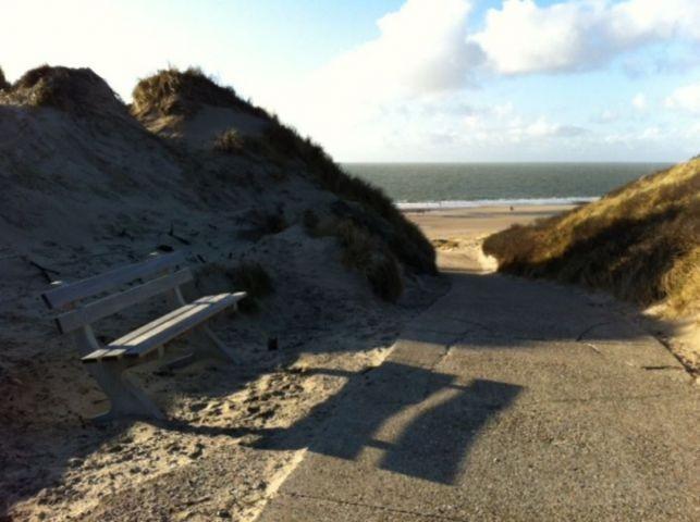 einer von 3 Strandeingängen