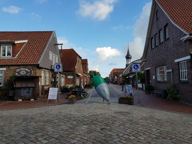 Hooksiel Fußgänger Passage