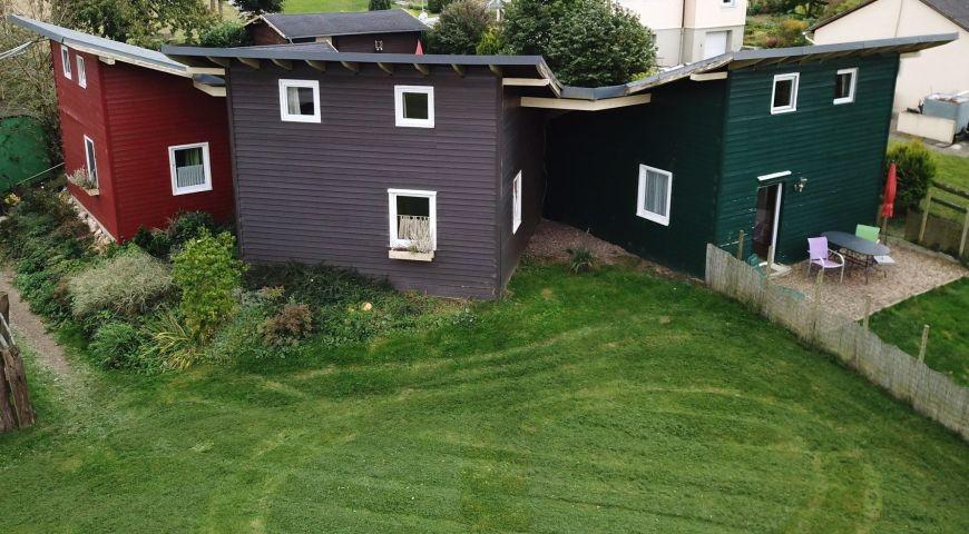 Gemütliches Holzhaus perfekt für Hunde und ihre Menschen