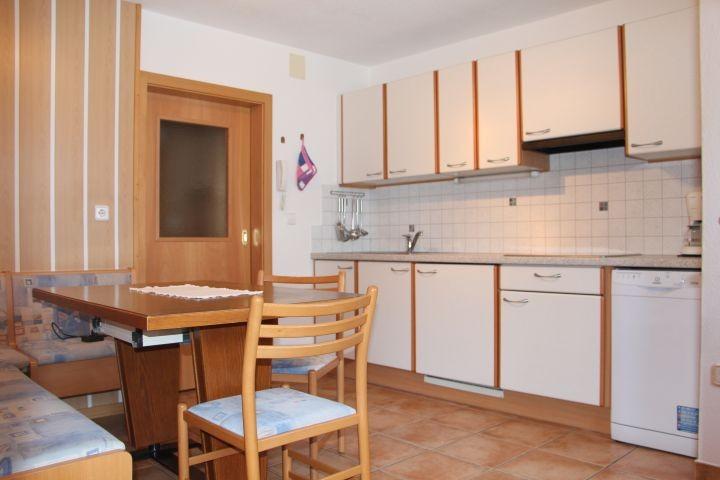 Wohnküche Ferienwohnung Sesvenna