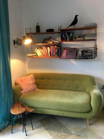 Leseecke im Wohnzimmer
