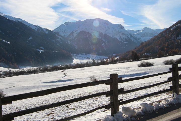 Winterwanderung  Richtung  Münstertal