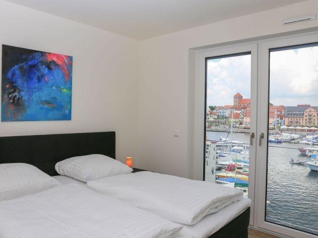 Schlafzimmer mit fantastischem Blick