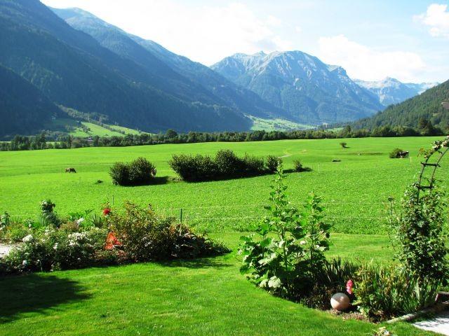 und die Schweizer Berge so nah