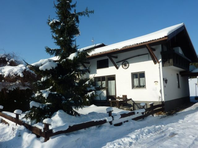 Haus Monika im Winter