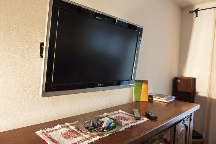 Philips Flat TV im Wohnzimmer