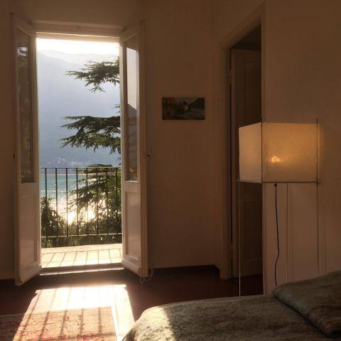 Appartement Breva: Wohnzimmer mit sonniges Bakon