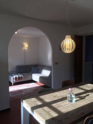Appartement Breva: Esszimmer und Wohnzimmer
