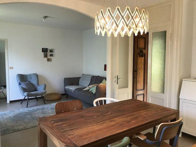 Appartement Tivan:  Esszimmer mit Wohnzimmer