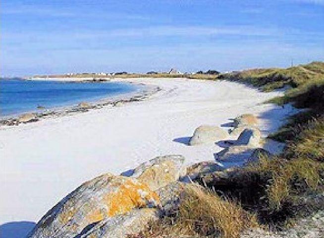Der Sandstrand ist nur 100 Meter vom Haus entfernt, Ideal für beschauliche Spaziergänge mit Hunde