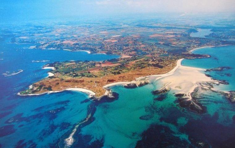 Die Halbinsel St Marguerite in Landeda.