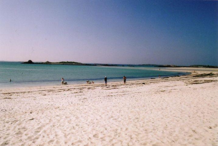Der schöne Sandstrand in 100 m Entfernung  vom Haus, perfekt für viele sportliche Aktivitäten