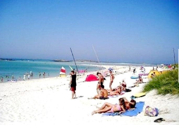 Der Strand 100 Meter vom Haus,  (1 km langen weiße Sand)