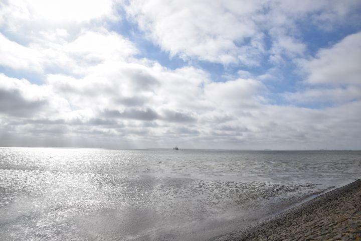 Die Nordsee bei Dagebüll
