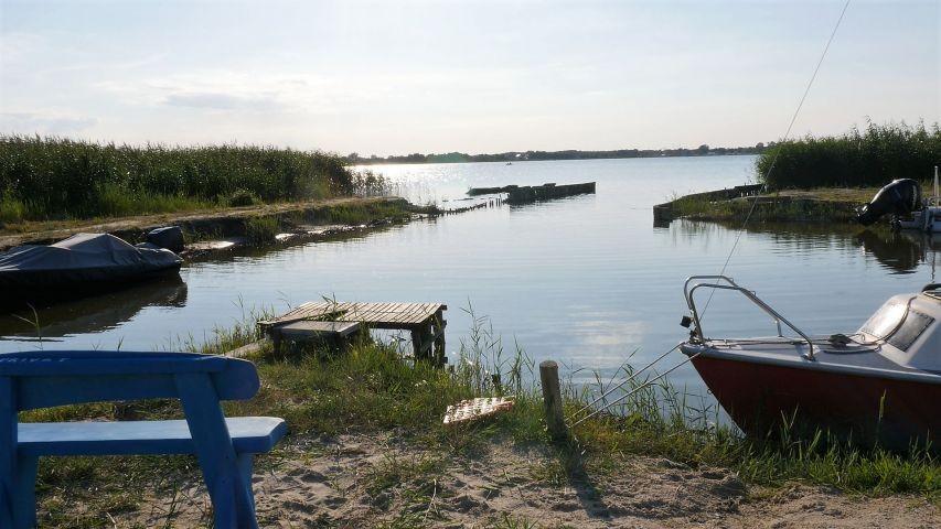 Die wilder Strand liegt ca. 1 km von uns entfernt.