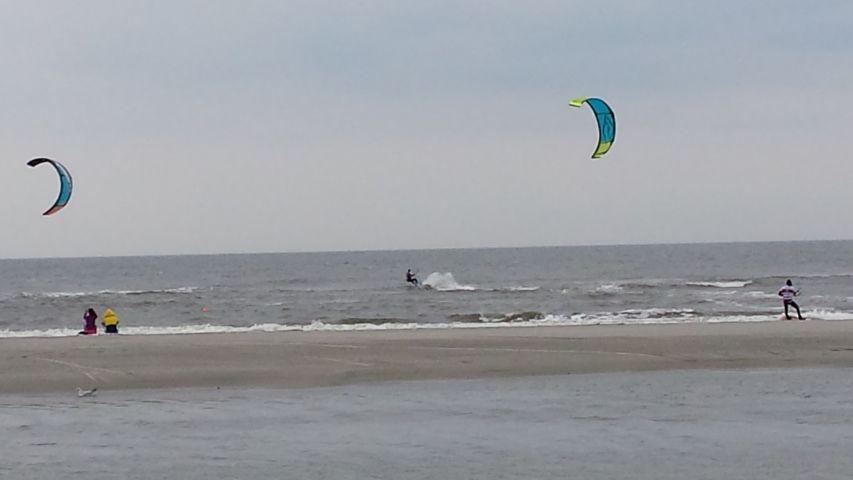 Kite-surfen  St Peter Ording