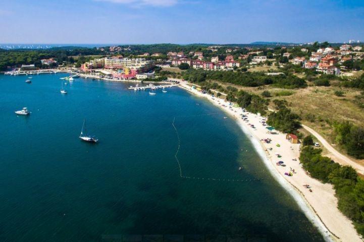 Große Strand in Banjole