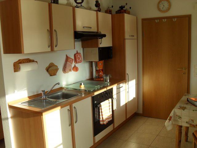 Küche mit Vollausstattung.