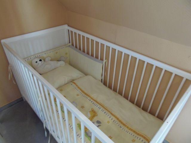 Inklusive hochwertiger Kinderbettwäsche