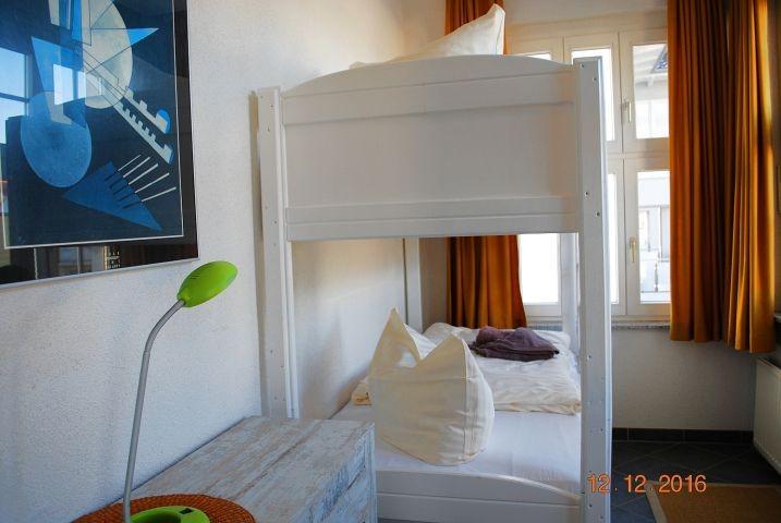 Blick in den 2.Schlafraum mit Etagenbett