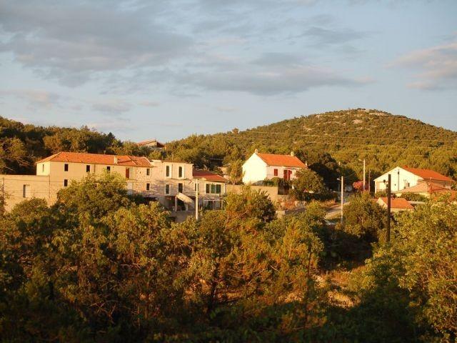 Blick auf das Haus bei der Ankunft