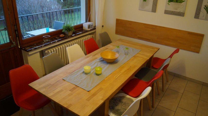Küche Parterre mit 12 Sitzplätzen