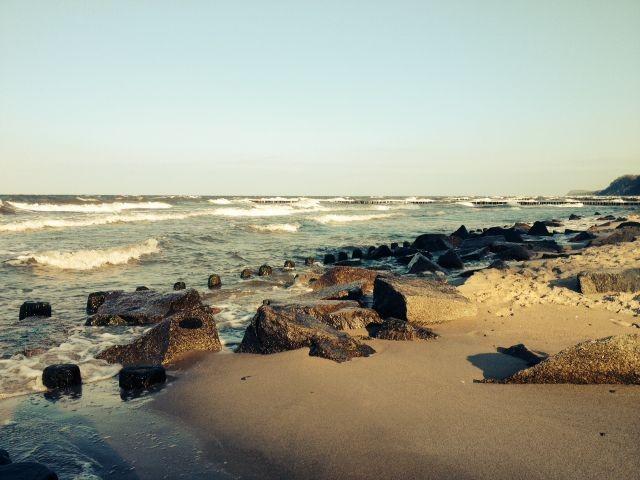 Strand Kölpinsee Loddin