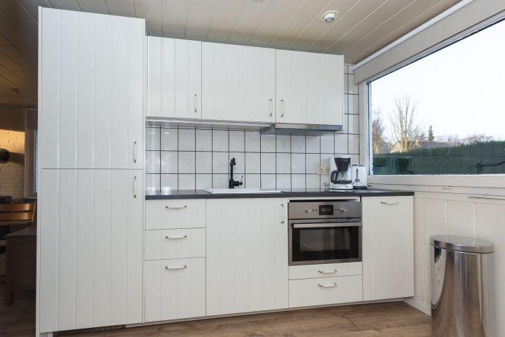 Die neue, offene Küche (2017) mit allem Komfort