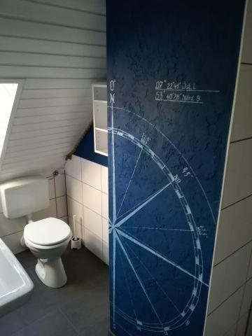 WC im Obergeschoß