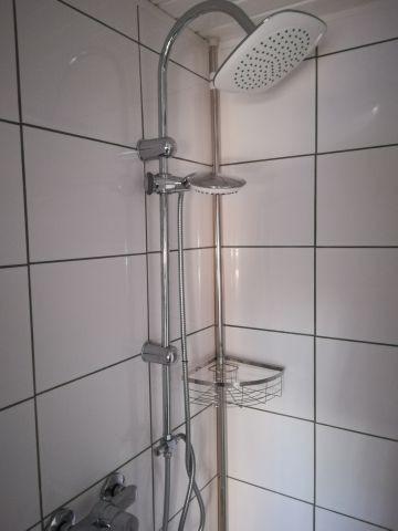 Dusche im Obergeschoß