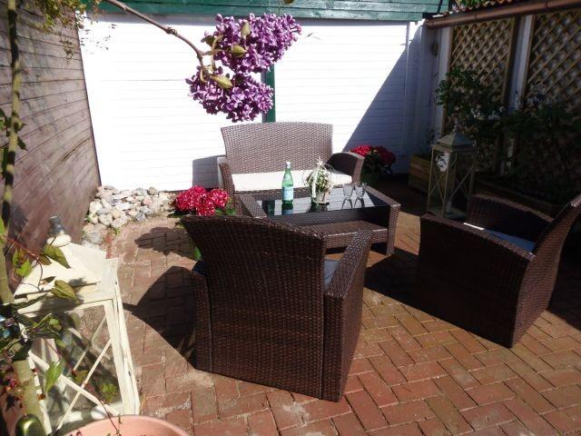Zweite Terrasse mit herrlichen Loungemöbeln