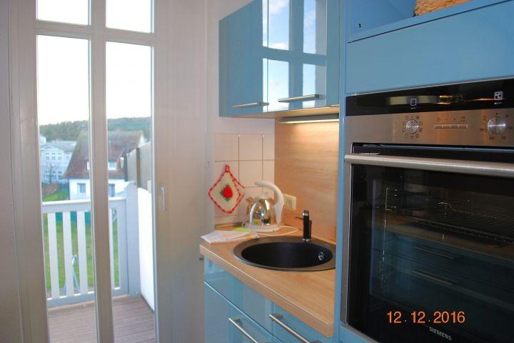 2. Blick in die Küche
