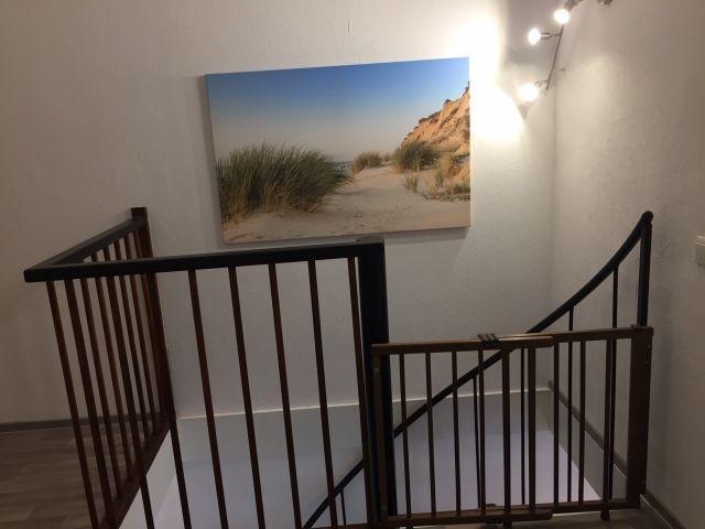 Treppe zum 1OG