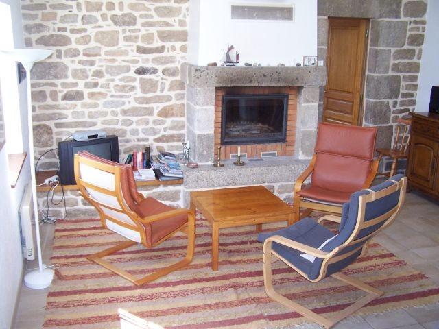 Wohnraum mit Warmluftkamin