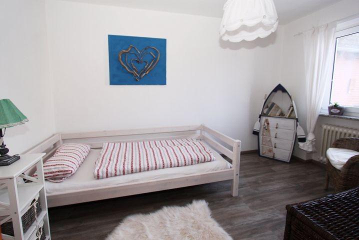 Schlafzimmer mit Einzelebett