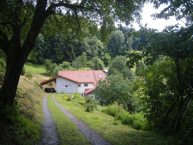 Rückansicht des Langenberghofes