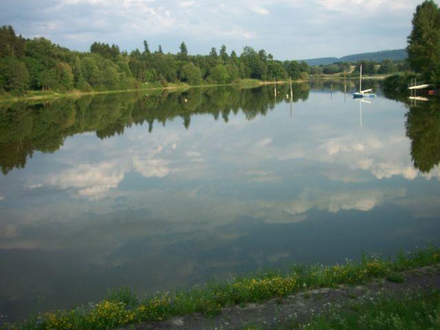Schwimmen im Fischbachsee