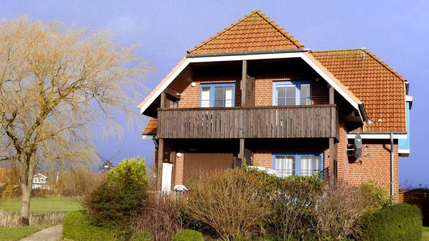 Ferienhaus Nr. 34 in der Ferienanlage in Lemkenhafen