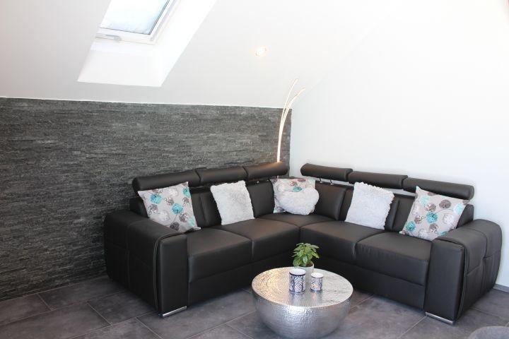 Sofa im Wohn-Ess-Bereich