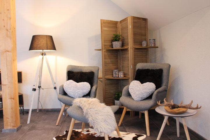 Sitzecke im Wohn-Ess-Bereich