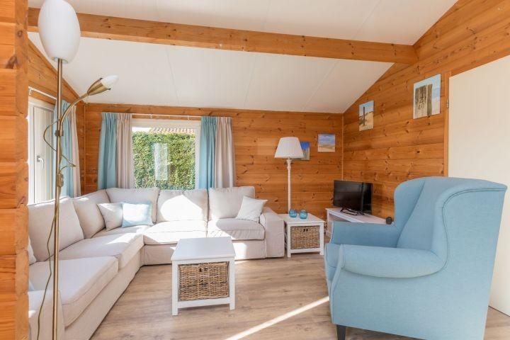 Das gemütliche, neu eingerichtete Wohnzimmer
