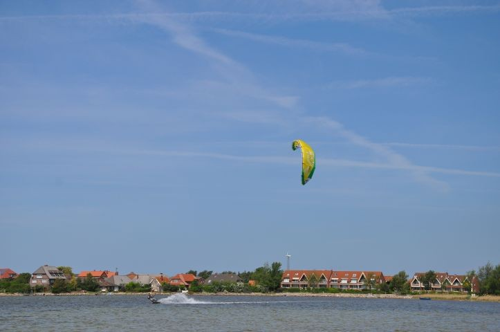 Kiter in Lemkenhafen