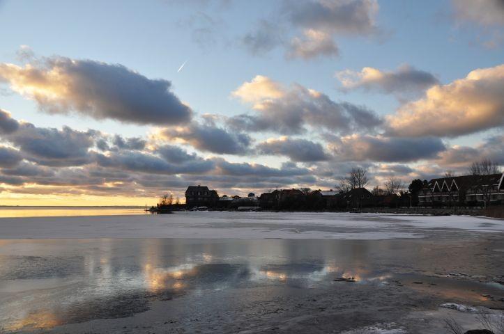 Lemkenhafen im Winter