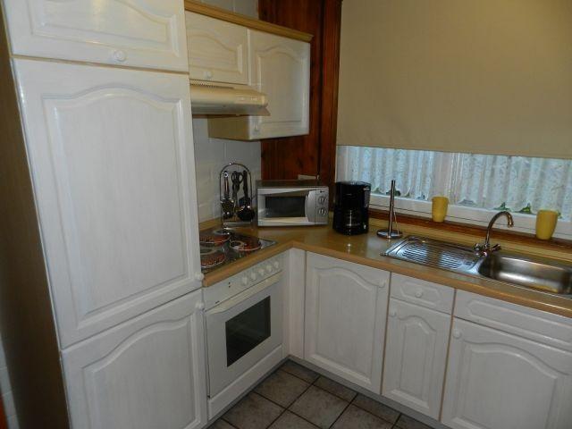 Komplett eingerichtete Küche