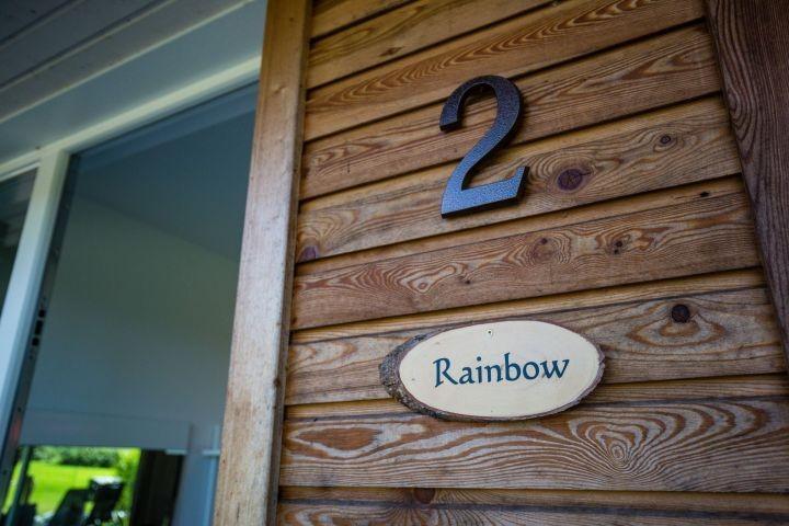 Eingang Wohnung Rainbow Nr.2